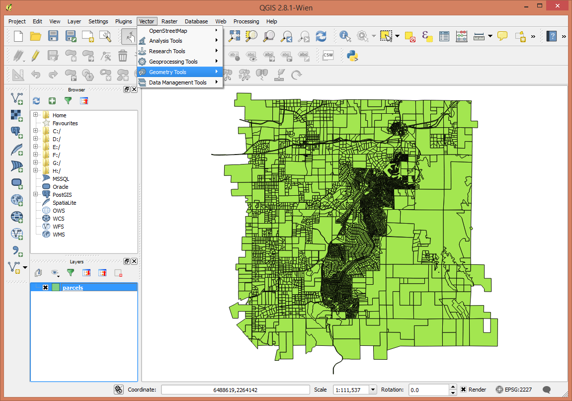 Geoprocessing — QGIS Tutorials 0 1 documentation