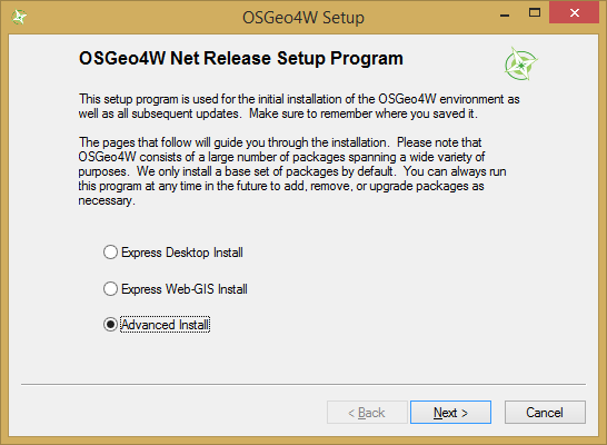 Installation — QGIS Tutorials 0 1 documentation