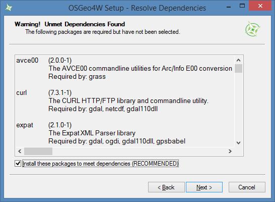 Installation — QGIS Tutorials 0 1 documentation
